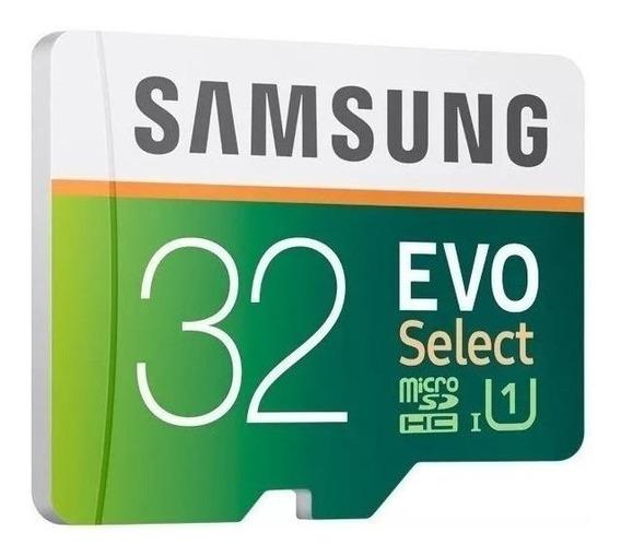 Cartão de memória Samsung MB-ME32GA/AM Evo Select com adaptador SD 32GB