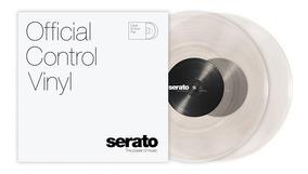 Disco Vinil Timecode Serato 10p Transparente - Clear (par)