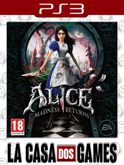 Alice: Madness Returns - Psn Ps3 - Envio Imediato