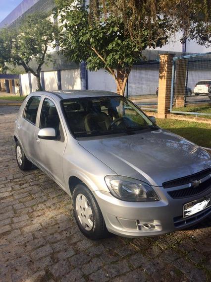 Chevrolet Celta Motor 1.0 Flex 4 Portas Prata Completo Lindo