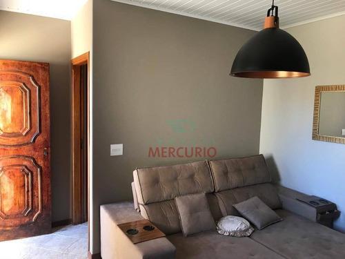 Imagem 1 de 16 de Casa À Venda, 223 M² Por R$ 330.000,00 - Núcleo Residencial Edison Bastos Gasparini - Bauru/sp - Ca3263