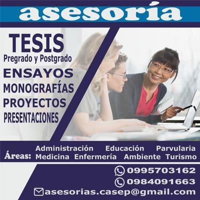 Tesis Pre Y Postgrado, Artículos, Monografías, Sin Plagio
