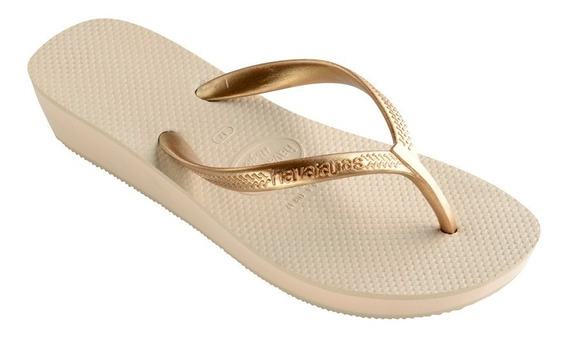 Havaianas Ojotas Mujer High Light Originales Brasil (1030)
