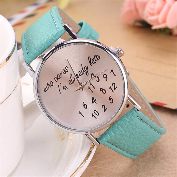Reloj Aqua, De Moda, Original, Fashion, Mujer.