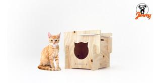 Casa Para Gatos Desarmable #jimmypet #haztejimmy