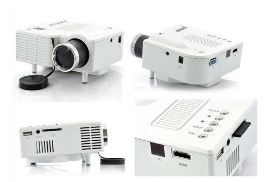 Mini Projetor Led,lcd Image System Cinema Na Sua Casa