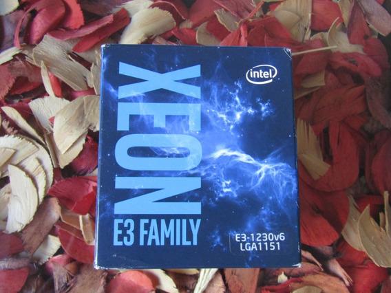 Processador Intel Xeon - E3-1230v6 - 3.5ghz - 8mb - Lga1151