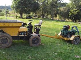 Trator Dumper Motor M90 Agrale