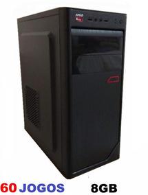 Cpu Gamer Com 60 Jogos Nova Hd 500 Gb 8gb Gta V Lol