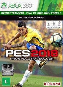 Pes 2018 | Xbox 360 | Digital | Transf. Licença Dublado