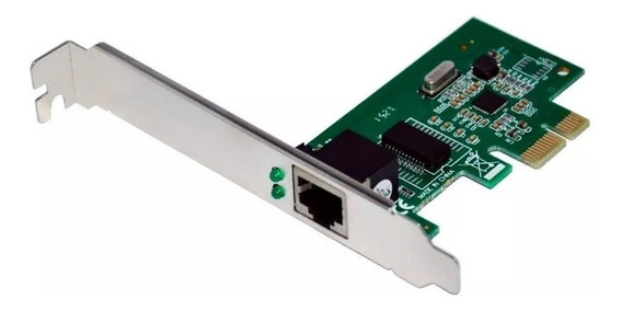 Placa De Rede Pci-e 10/100/1000 Mbps Dp-02 Pci Express