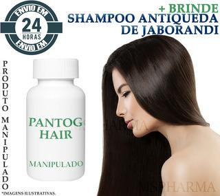 Pantog Hair Manipulado 120caps + Brinde