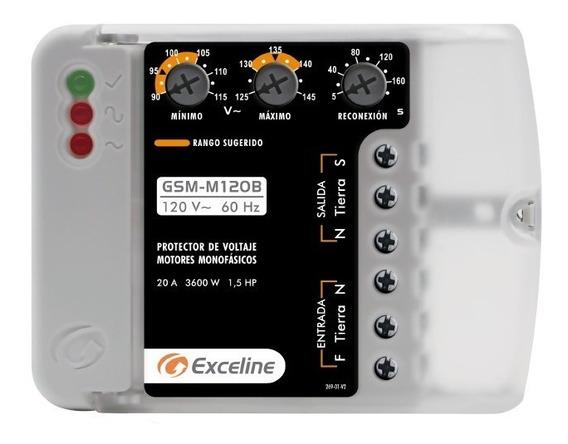 Protector De Voltaje Exceline Motores Monofasicos 120v