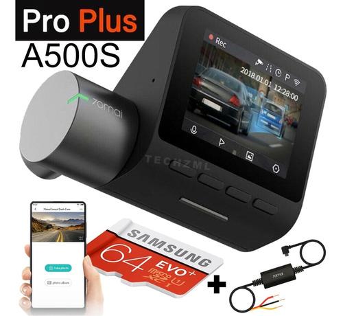 Imagem 1 de 10 de Camera Veiculo Automotiva 70mai A500s Pro Plus +128gb + Cabo
