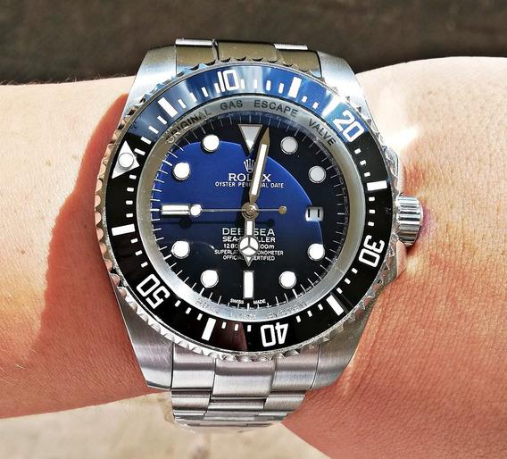 Reloj Rolex Deep Sea Acero Cristal Mineral Automatico