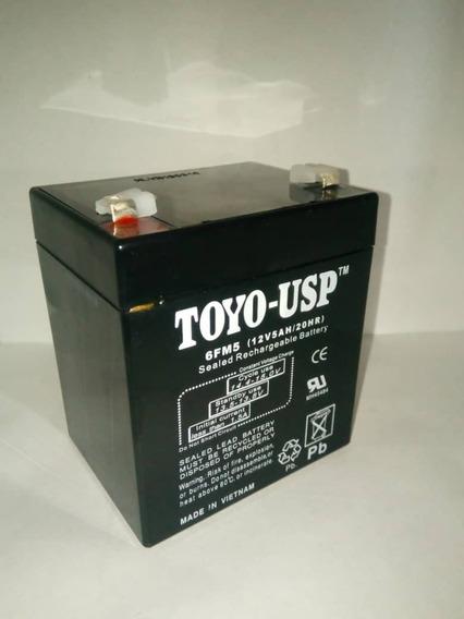 Bateria 12v 5amp Toyo