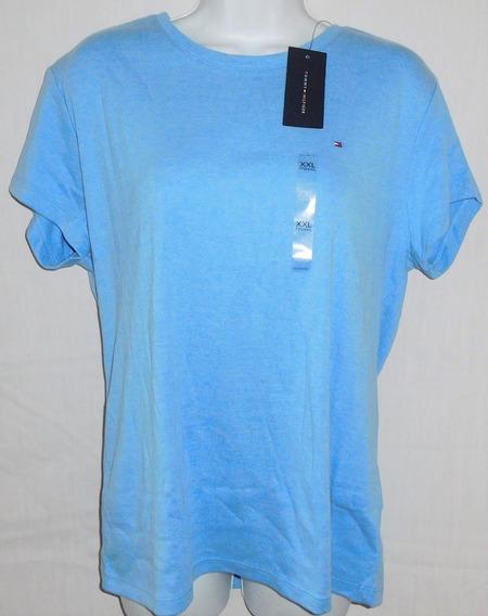 Tommy Hilfiger Camiseta Feminina Original Cores Variadas