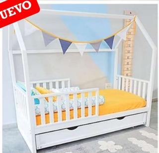 Cama Infantil Individual Montessori.- Kangoohouse