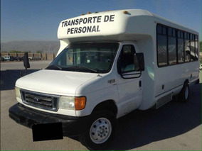 Microbuses_ford E450 Micro Bus Para Transporte De Personal