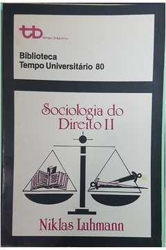 Sociologia Do Direito Ii Niklas Luhmann