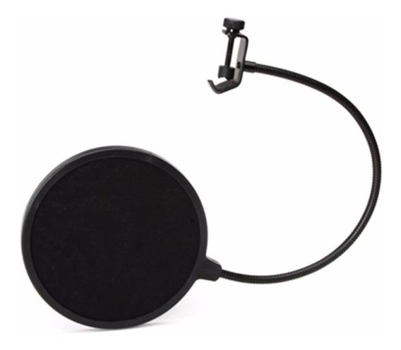 Tela Pop Filter Sas Santo Angelo Anti Sopro Para Microfone