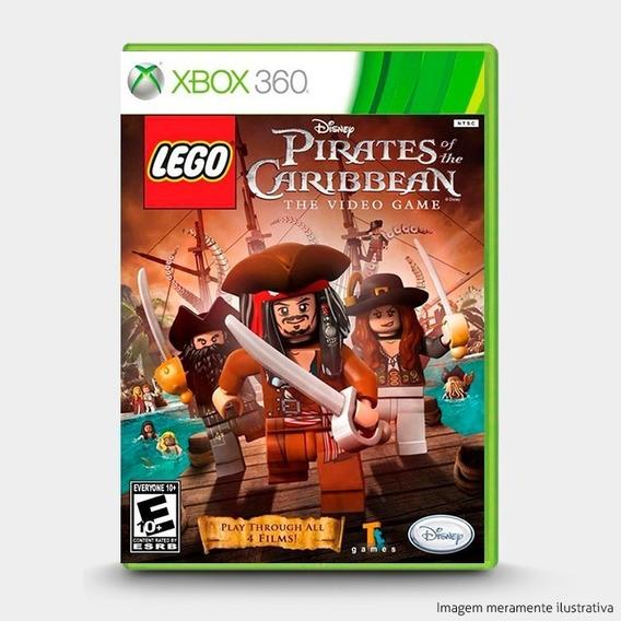 Jogo Lego Piratas Do Caribe Xbox 360 Original Lacrado Novo