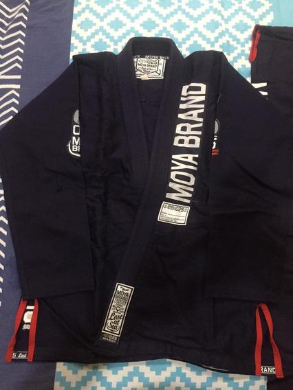 Kimonos Moya Brand Nuevos Azul Navy Y Blanco