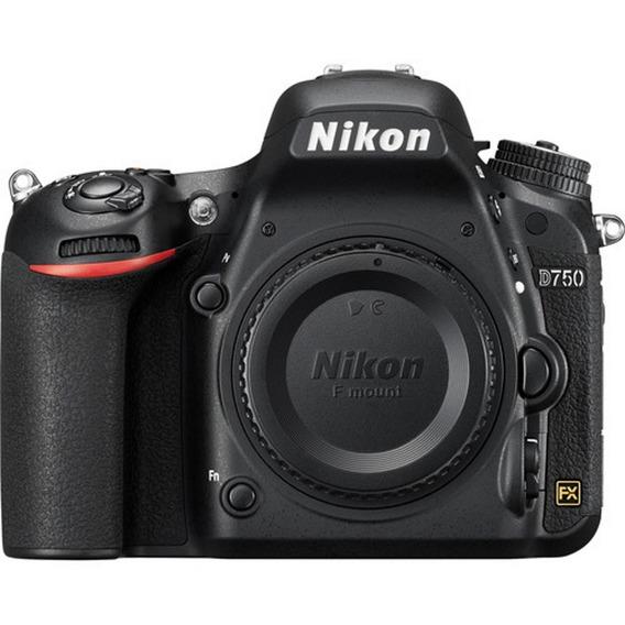 Câmera Nikon D750 - 24.3mp - Somente Corpo - Loja Platinum