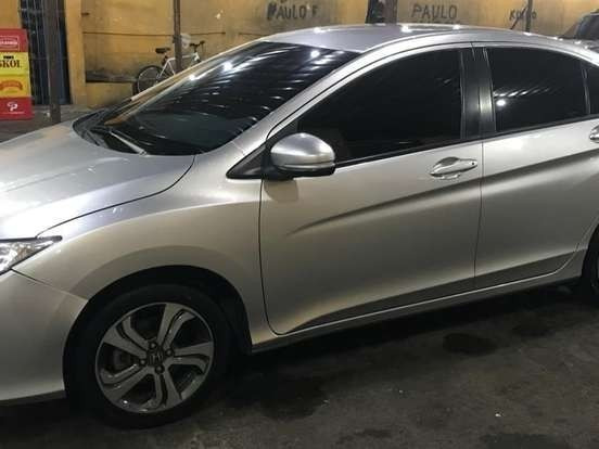 Honda City Prata - 1.5 Lx 16v Flex 4p Automático