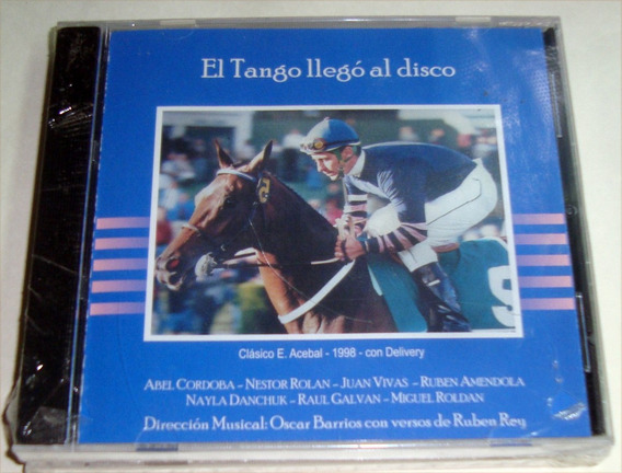 Kktus Abel Cordoba El Tango Llego Al Disco Oscar Barrios Cd