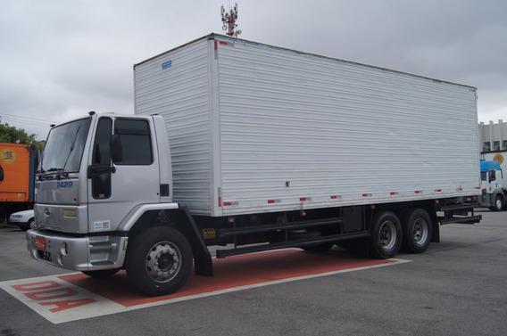 Ford Cargo 2422 - 6x2 - Baú 8,50 Metros - 2° Dono - Original