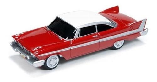 Imagem 1 de 2 de Miniatura De Plymouth Fury 1958 Christine 1:64 Auto World