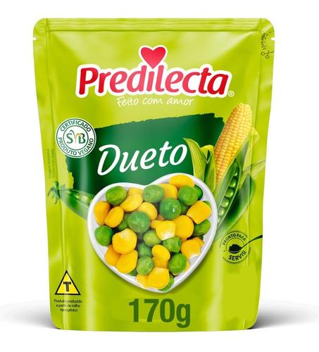 Dueto Milho E Ervilha 170g Sachê Predilecta