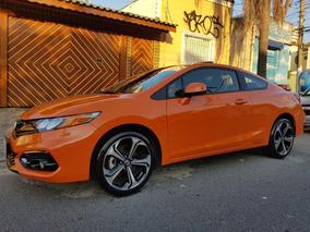 Honda Civic 2.4 Si 2p Coupe Ano E Mod.2015 Em Estado De Okm.
