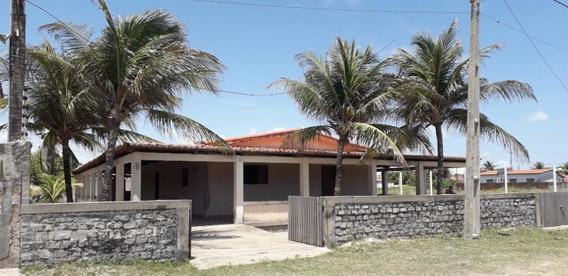 Casa Com 3 Dormitórios Para Alugar, 418 M² Por R$ 850,00/mês - Redinha Nova - Extremoz/rn - Ca7148