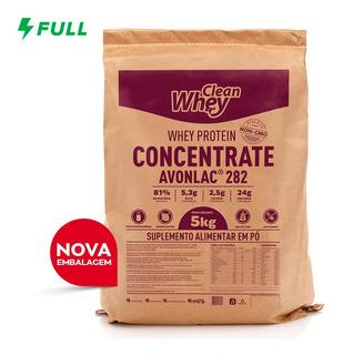 Clean Whey Concentrada Avonlac 282 5kg Glanbia Nutritionals