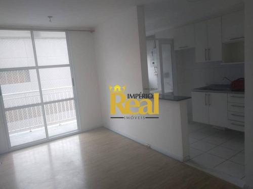 Apartamento Com 2 Dormitórios, 47 M² - Venda Por R$ 395.000,00 Ou Aluguel Por R$ 1.550,00/mês - Vila Dos Remédios - São Paulo/sp - Ap6351