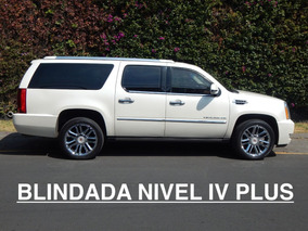 Camioneta Blindada Nivel 4 Plus Escalade 6.2 Platinum V8