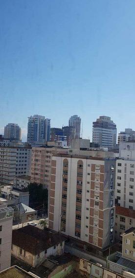 Apartamento Com 1 Dorm, Gonzaga, Santos - R$ 360 Mil, Cod: 11357 - V11357