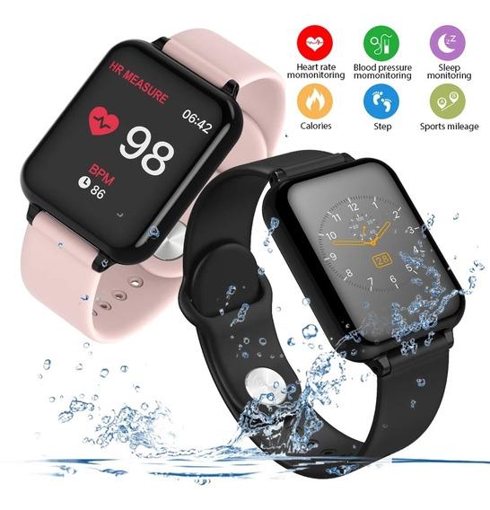 Relógio Smartwatch Digital Android Iso Homens E Mulheres