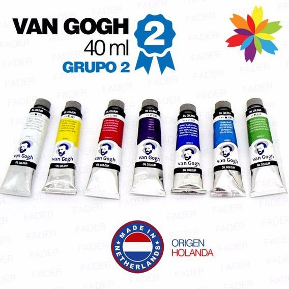 Oleos Van Gogh 40ml.g-2 Todos Los Colores!! Barrio Norte..