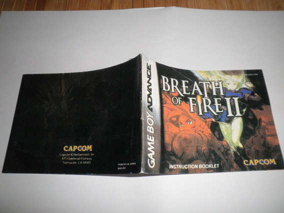 Manual Breath Of Fire 2 Alternativo!