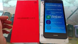 Huawei Gr3 Negro Con Gris Libre. Nuevo. $3899 Con Envío.