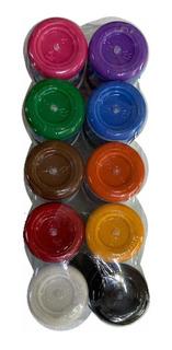 Pintura Acrilica Politec 15ml (10 Pzas) Manualidades Colores