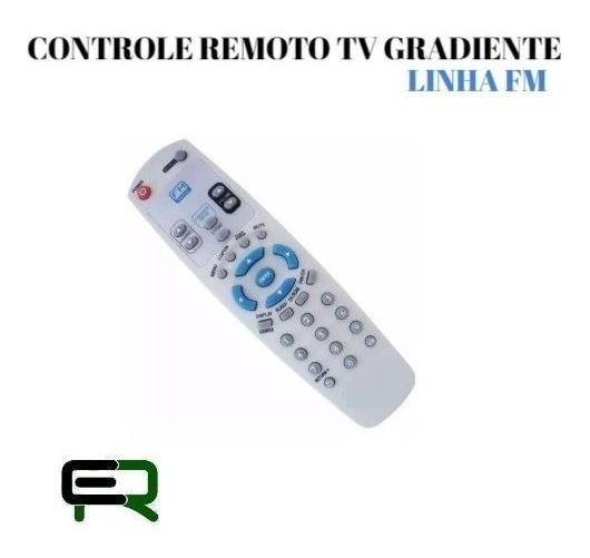 Controle Remoto Tv Gradiente Linha Fm