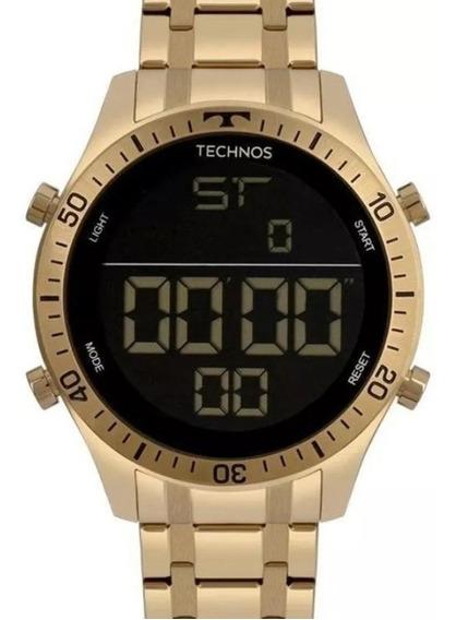 Relógio Digital Technos Dourado