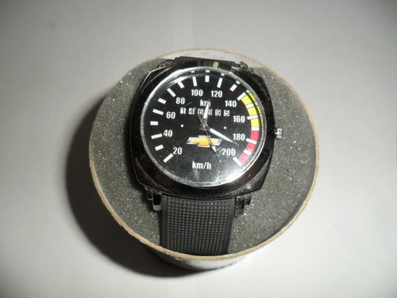 Relógio Com Tema Automotivo, Chevrolet