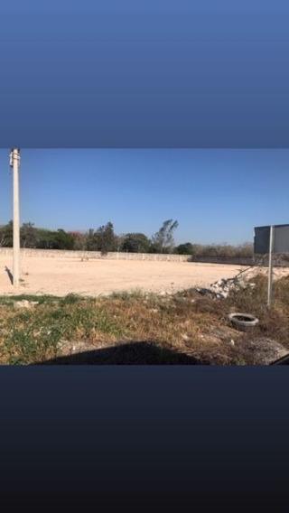 Terreno En Renta A Pie De Carretera Merida-progreso Km 25