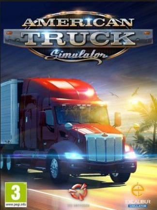 American Truck Simulator-pc-dvd(midia Fisica)