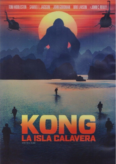 Kong La Isla Calavera Tom Hiddleston Pelicula Dvd